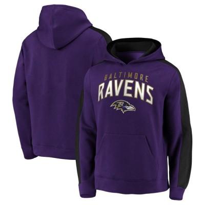 ボルティモア・レイブンズ Fanatics Branded Game Time Arch Pullover Hoodie - Purple