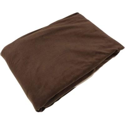 三幸 毛布にもなる あたたか掛けカバー ブラウン シングルロングサイズ フリース リバーシブル V501631-0027