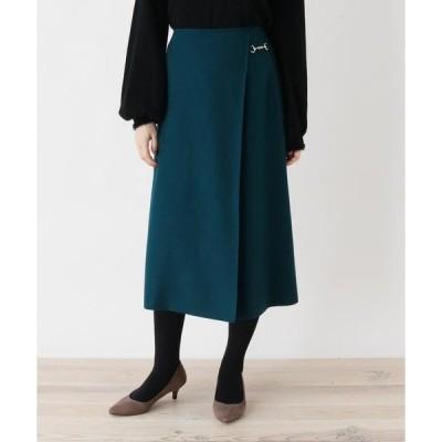 SOUP / スープ 【大きいサイズあり・13号・15号】innowave ビットミモレラップスカート