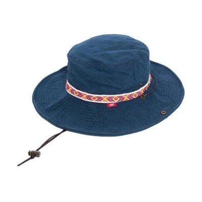Clef ADVENTURE HAT MEX クレアドベンチャーハット 帽子 (ネイビー Free Size)