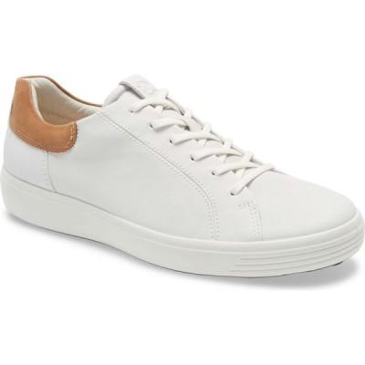 エコー ECCO メンズ スニーカー シューズ・靴 Soft 7 Sneaker White