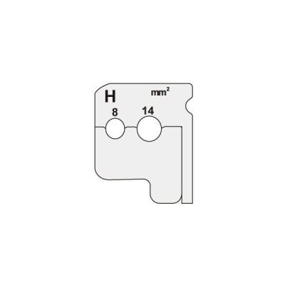 ジェフコム:ワイヤーストリッパー 替刃 型式:DIV-814KP