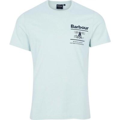 バブアー Barbour メンズ Tシャツ トップス Channory T-Shirt Surfspray AQ