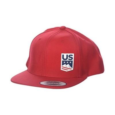 US スキーSnowboard Licensed Apparel U S スキー チーム Logo Cap Red One Size
