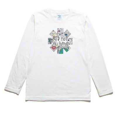 RED HOT CHILI PEPPERS 音楽・ロック・シネマ 長袖Tシャツ ロングスリーブ