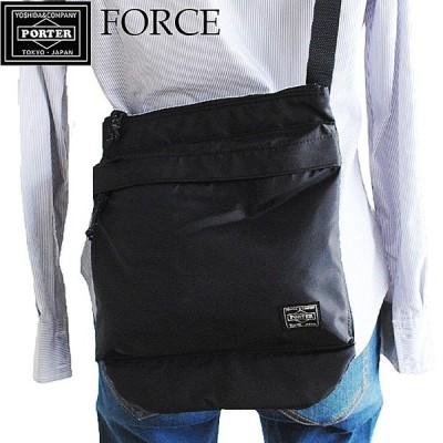 吉田カバン ポーター フォース ショルダー バッグ メンズ 縦型  ネイビー ブラック レディース PORTER FORCE 855-05091  通販 送料無料
