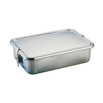 厨房用品 保存容器 / UK 18-8フードコンテナー 7号 寸法: 間口:330 x 奥行:230 x H85mm 容量:5.5cc