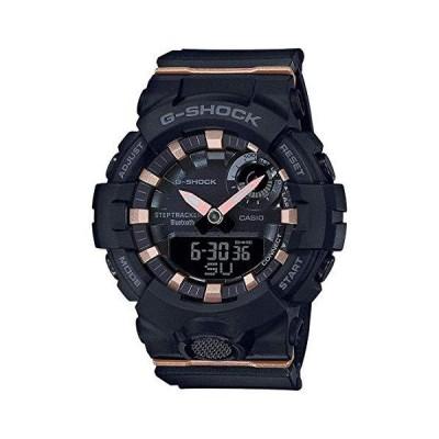 レディース カシオ G-Shock Sシリーズ G-Squad コネクテッドブラック樹脂腕時計 GMAB800-1A【並行輸入品】