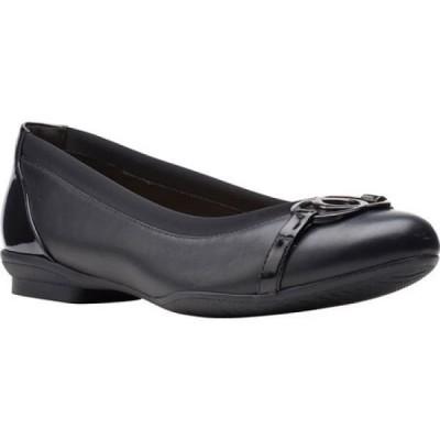 クラークス Clarks レディース スリッポン・フラット バレエシューズ シューズ・靴 Sara Dahlia Ballet Flat