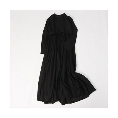 <HOUSE OF LOTUS(Women)/ハウス オブ ロータス> カディギャザードレス ブラック【三越伊勢丹/公式】