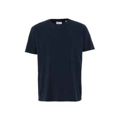 COLORFUL STANDARD T シャツ ダークブルー S オーガニックコットン 100% T シャツ