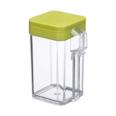 小麦粉&スパイスボトル アクア グリーン 容量約200ml(小麦粉:約100g)