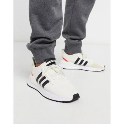 アディダス メンズ スニーカー シューズ adidas Originals U-Path Run sneakers in white
