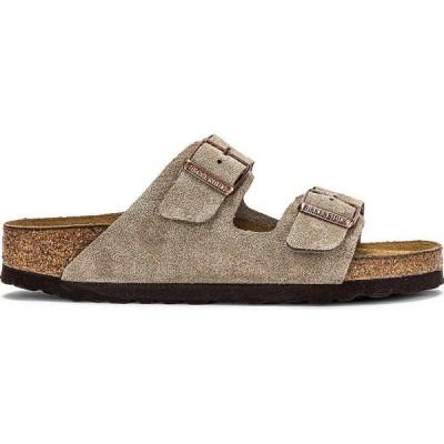 ビルケンシュトック BIRKENSTOCK レディース サンダル・ミュール シューズ・靴 Arizona Soft Footbed Sandal Taupe