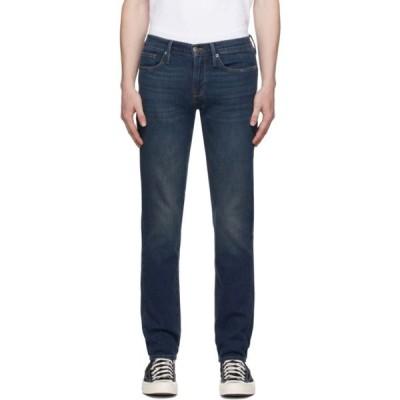 フレーム Frame メンズ ジーンズ・デニム ボトムス・パンツ Indigo 'L'Homme Skinny' Jeans Avon