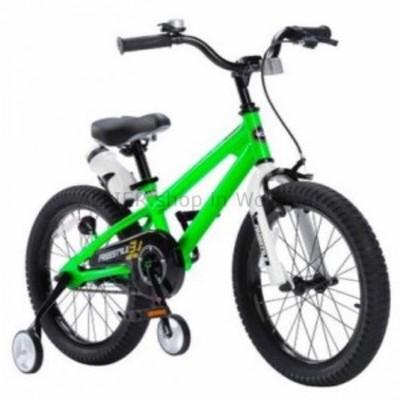 BMX 子供のための自転車グリーン18インチリトルボーイズガールズトレーニングホイールBMXサイクルバイク  Bicycle fo