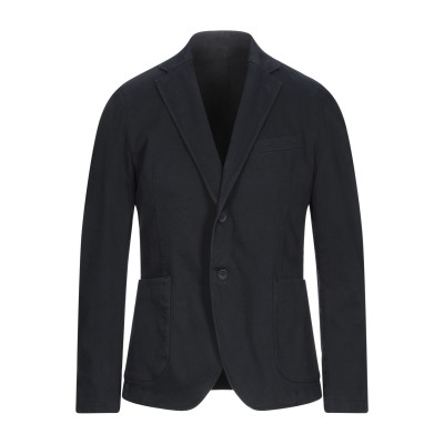MARCIANO テーラードジャケット ダークブルー 46 コットン 98% / ポリウレタン 2% テーラードジャケット