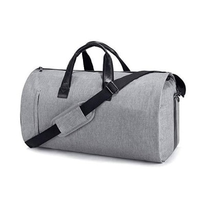 SUVOM Suit Travel Bag Carry On Garment Bag with Shoes Compartment Duffle Bag Weekend Bag Flight Bag for Travel & Business Trips With Shoulde