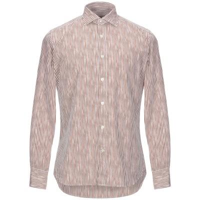 CALIBAN 820 シャツ ブラウン 39 コットン 100% シャツ