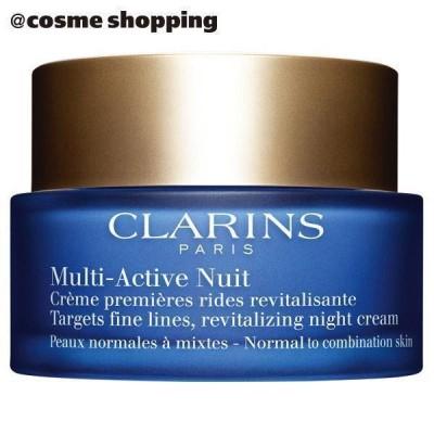 クラランス Mアクティヴ ナイト クリーム ノーマル/コンビネーション(スィートなフローラルブーケの香り) フェイスクリーム