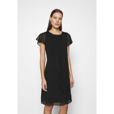 スウィング ワンピース レディース トップス Cocktail dress / Party dress - black