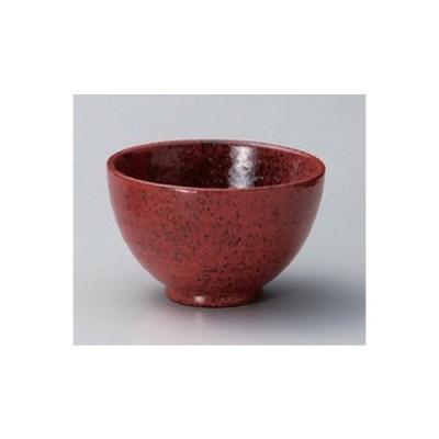 和食器 / 多用碗 小 赤結晶マグマ4.5京丼 寸法:11.4 x 7.2cm