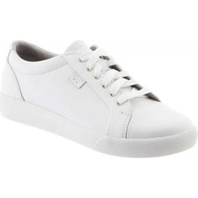 クロッグス Klogs レディース スニーカー シューズ・靴 Galley Sneaker White Smooth Leather