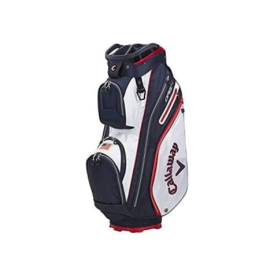 Callaway Golf 2021 ORG 14 カートバッグ ホワイト/ネイビー/レッドフラッグ並行輸入品