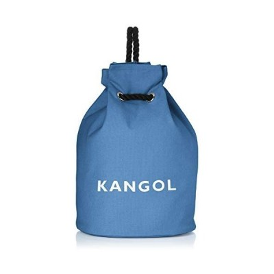 [カンゴール] トートバッグ 厚手コットンキャンバス ロープハンドル ボンサック リュック (ブルー Free Size)