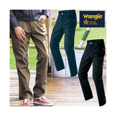 ラングラー Wrangler カーゴパンツ(ノータック)(男女兼用) AZ-64451