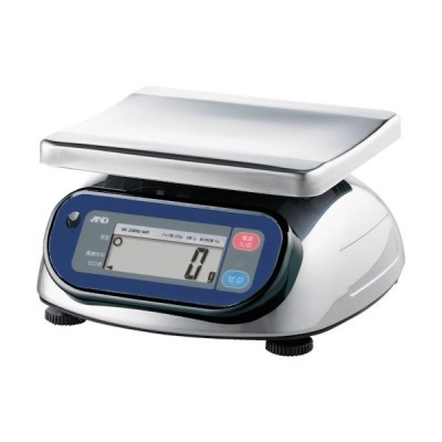 A&D(エーアンドディー) 防塵防水デジタルはかり(検定付・1区) SK2000IWP-A1
