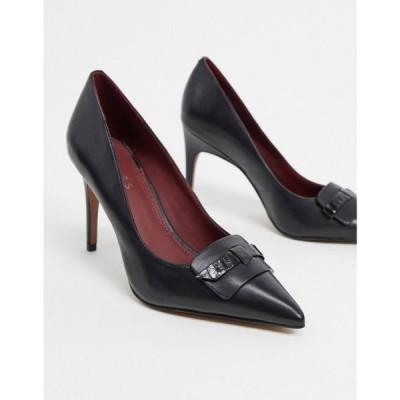 リース Reiss レディース ヒール シューズ・靴 Harriet Pointed Heels ブラック