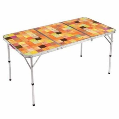 コールマン Coleman テーブル アウトドア キャンプ ナチュラルモザイクリビングテーブル/140プラス 2000026750 【ktkt】