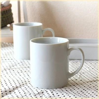 マグカップ 80ミリシンプル 国産 美濃焼 カップ コップ スタンダード コーヒー 紅茶 ポーセリンアート 8cm マグ 白い食器 白 カフェ 器