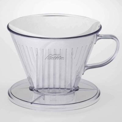 カリタ Kalita コーヒー ドリッパー つば広タイプ プラスチック製 4~7人用 103-D #06003