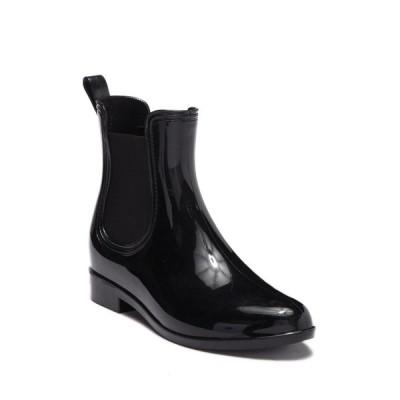 セブン7 レディース ブーツ&レインブーツ シューズ Dover Waterproof Chelsea Rain Boot BLACK
