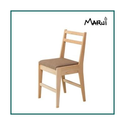 ひのきリッチチェア 国産ヒノキ無垢 天然木製 ダイニングチェア 学習椅子 布座 ビニールレザー 日本製