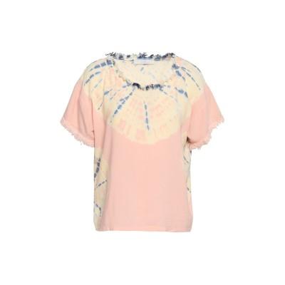 KAIN T シャツ ライトピンク XS レーヨン 95% / ポリウレタン 5% T シャツ
