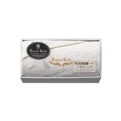 ロイヤルリッチ国産ジャカードシルク混綿毛布(RR54150) 