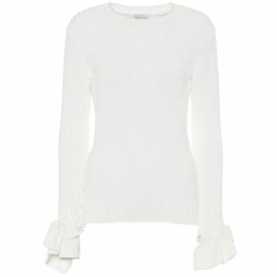 ドリス ヴァン ノッテン Dries Van Noten レディース ニット・セーター トップス Cotton-blend sweater Off White