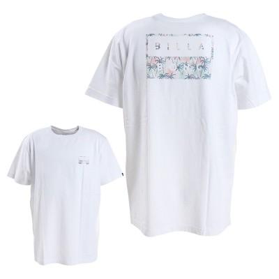 ビラボンマリン・レジャーTシャツ 半袖 DECAL CUT BA011204 WGN ホワイト×ピンク