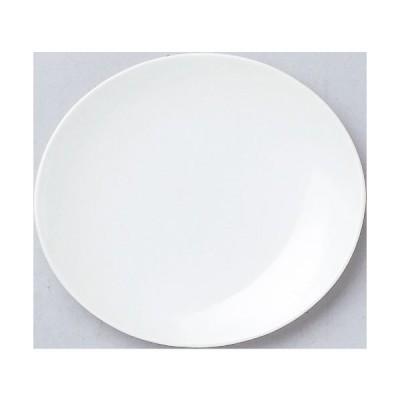 【オーバルホワイト 21cm 中皿】【プレート】 【10枚入】【業務用】