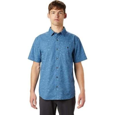マウンテンハードウェア メンズ シャツ トップス Mountain Hardwear Men's Conness Lakes SS Shirt