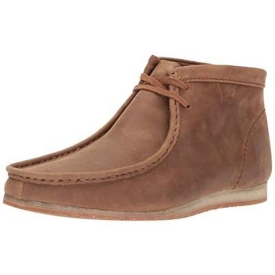 クラークス メンズ ブーツ CLARKS Men's Wallabee Step Chukka Boot