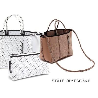 State of Escape(ステイトオブエスケープ)ショルダー&トートバッグ/プチエスケープトートバッグ/PETITE ESCAPE tote bag/ミニサイズネオプレンバッグ