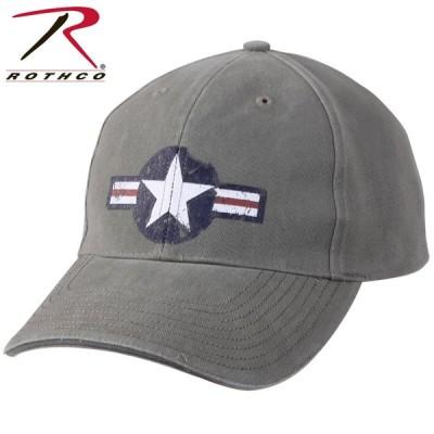 ROTHCO ロスコ Vintage Air Corps Logo Low Profile Cap メンズ レディース ミリタリーキャップ 帽子 アメリカ 米軍 アメリカ軍 ブランド 【9714】