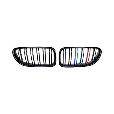 左右キドニーグリル BMW M6 F06 F12 F13 6シリーズ 2012-2018対応 (光沢ブラックMカラー)【並行輸入品】