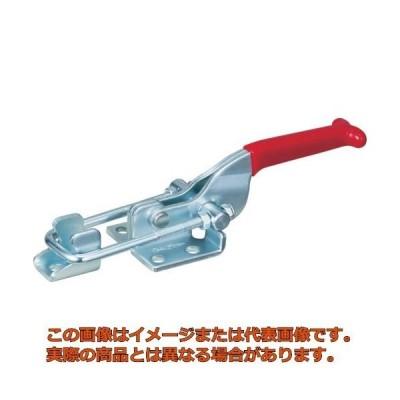 スーパー 引き止め専用型トグルクランプ ベースタイプ:フランジ 最大支持力:3.18kN 調整量:10〜20mm TLA200F