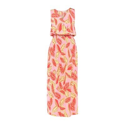 モスキーノ MOSCHINO ロングワンピース&ドレス ピンク 36 レーヨン 100% ロングワンピース&ドレス
