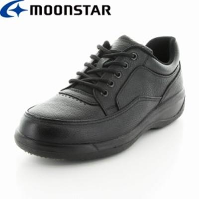 送料無料 ムーンスター メンズ ビジネスシューズ 靴 SPH8900WSR ブラック 防滑 本革 国産 スペラン カジュアル